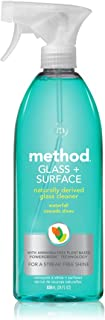 Method Glass Cleaner + Surface Cleaner, Waterfall, 28 Ounce (8 Count)