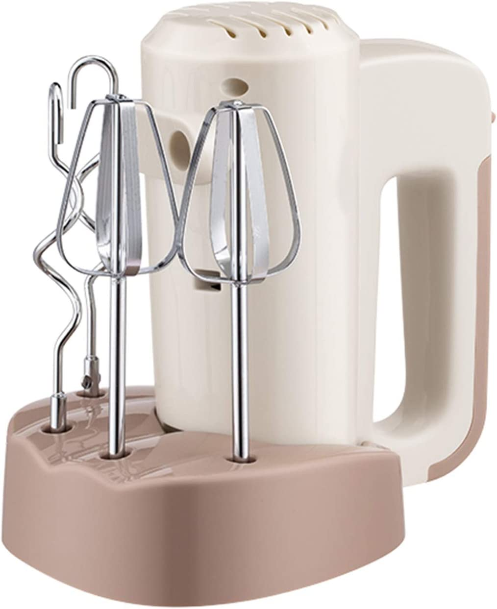 YUMEIGE Eggbeater Hand Mixer At the price with Dough S New popularity 5 Whisk and 125W Hooks