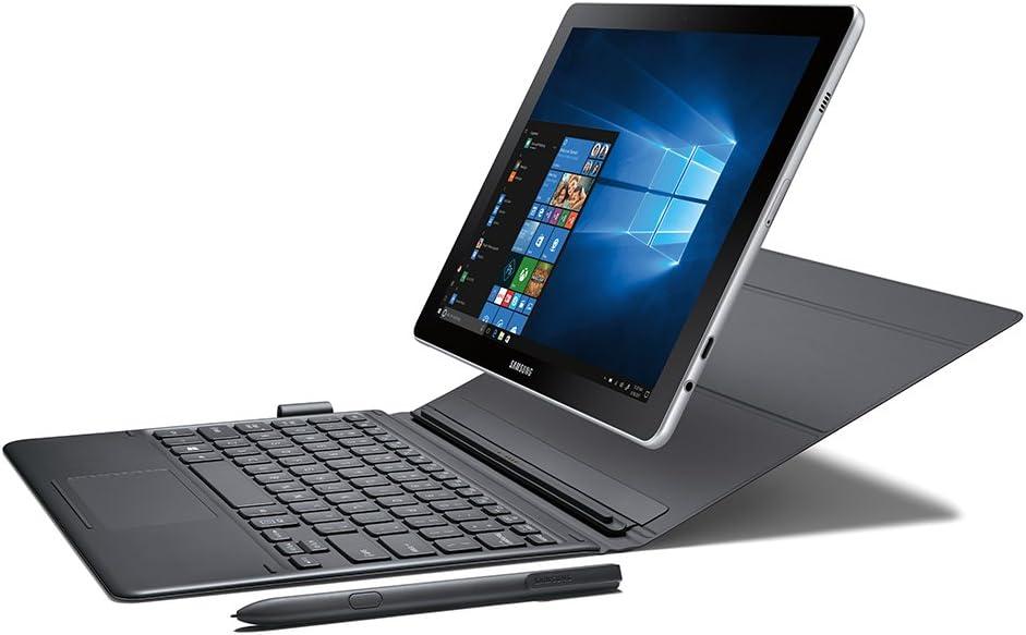 "Samsung Galaxy Book 10.6"" Windows Wi-Fi 2-in-1 Max 54% OFF PC Financial sales sale Silver"
