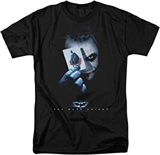 The Dark Knight Heath Ledger Joker with Card T Shirts & Stickers