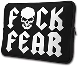 Neoprene Computer Pouch Case Fuck Fear Drink Beer Fashion Laptop Sleeve Bag for 13-15