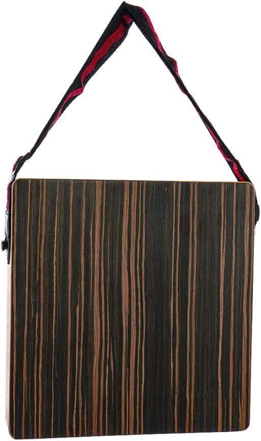 KTOO Cajon Boxdrum voyage tambour accompagnement bo/îte /à musique Instrument /à percussion en bois massif Portable avec sangle
