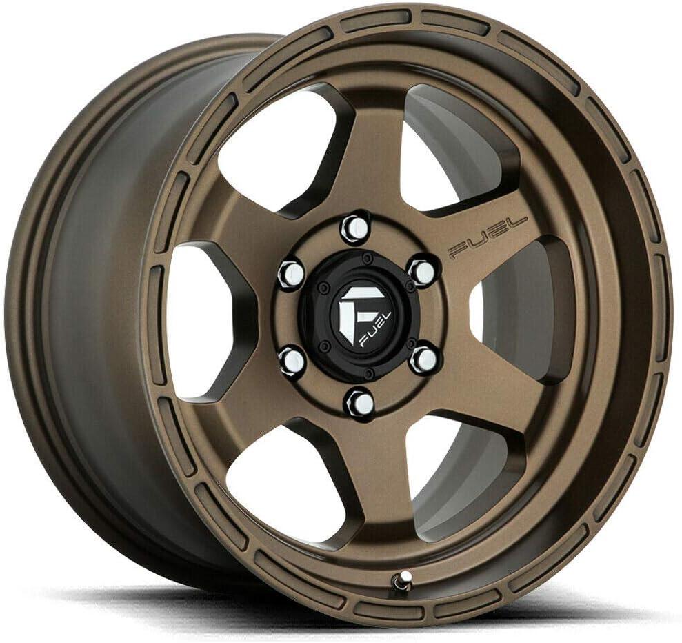 Fuel Offroad D666 Max 75% OFF SHOK BRONZE Wheel tpms 17 x Bargain sale inches 9. 13 6