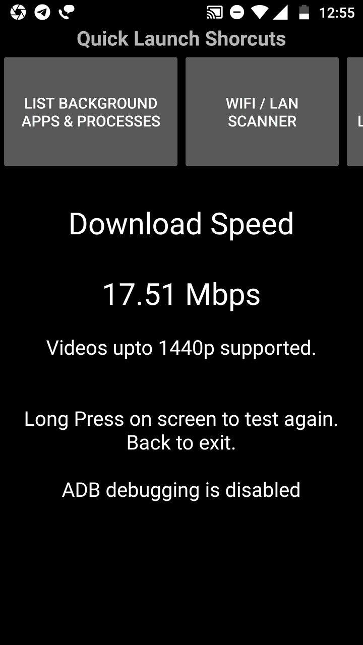 NetSpeed Test (Upload, Download and Ping)