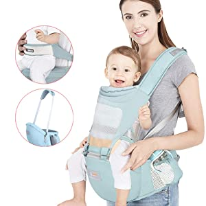Baby Carrier Soft Sling All Carry with Hip Seat