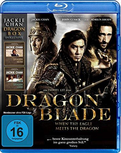 Jackie Chan - Dragon Box : Dragon Blade - Dragon Hero - Dragon Lord [Blu-ray]