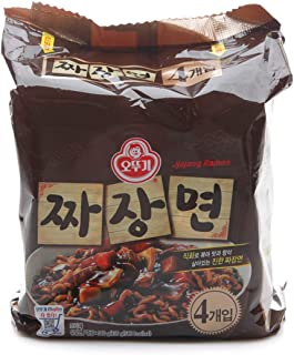 [Ottogi] Jjajangmyeon (Pack of 4) / Korean food/Korean ramen/Jjajangmyeon (overseas direct shipment)