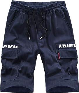 Pantalones cortos de verano extra grandes sueltos casuales a la moda