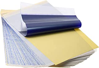 Papier de transfert de tatouage LuLyL 40 feuilles A4 papier de pochoir thermique de tatouage papier de copieur thermique d...