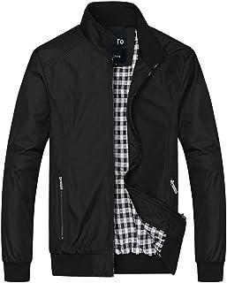 Lega Men's Casual Lightweight Zip Coat Outdoor Sportswear Windbreaker Bomber Jackets