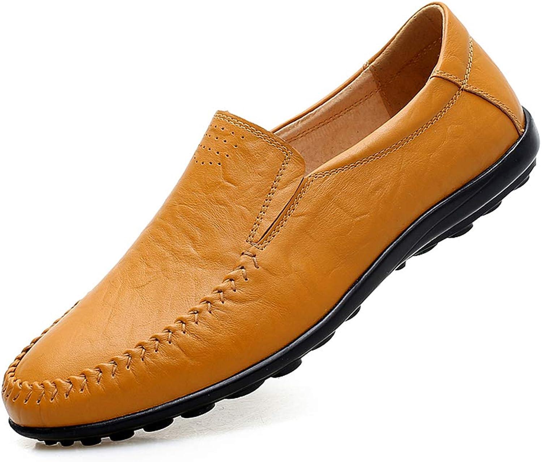 Mans Comfort Comfort Comfort Loafers läder  sommar  Springaa  Fall Comfort Loafers och Slip -Ons svart  röd bspringaaa  gul bspringaaa, A,39  det bästa urvalet av