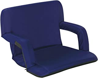 Naomi Home Venice Stadium Seat for Bleachers Portable Reclining with Armrest Royal Blue/Standard