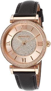 Michael Kors Women's Quartz Watch, Analog Display and Leather Strap MK2376