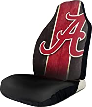 $27 » Car Seat Covers Alabama Crimson Football Ti-De Pattern Protector Interior Accessories Integrated Auto Seat Cover for Car T...