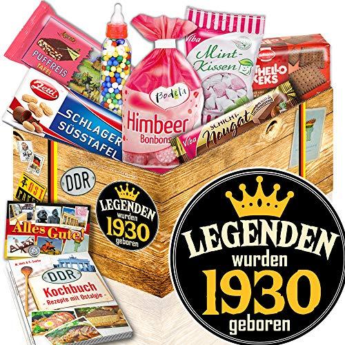 Legenden 1930 ++ Süßigkeiten Ostpaket ++ Geschenk für alte Herren