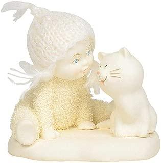 Department 56 Snowbabies Classics Chatty Catties Figurine, 3 Inch, White
