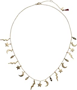 SHASHI - Lightening Charm Necklace