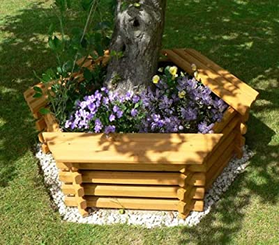 Intalogs???Planter with 3?Seater Bench, Medium from Intalogs