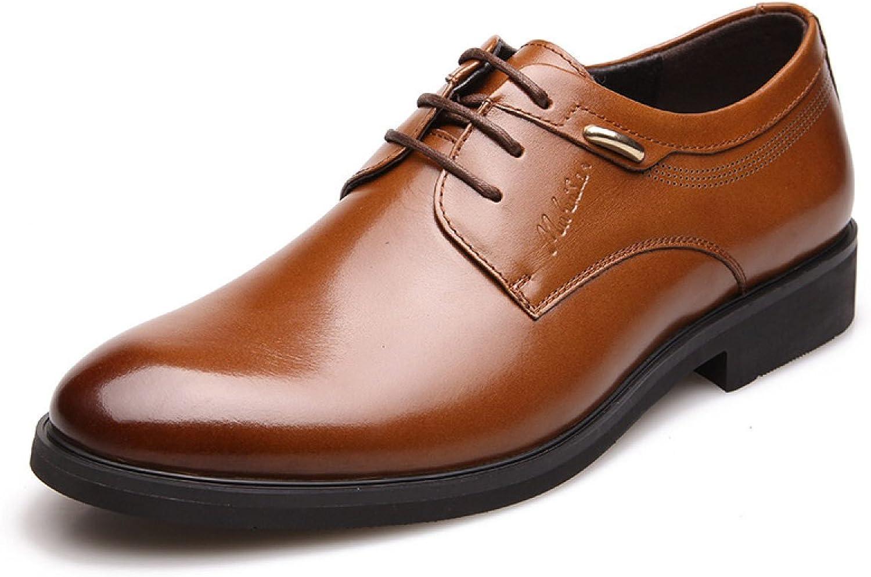 GTYMFH Herbst Geschft Anzüge Schuhe England Runde Schuhe Niedrig Zu Helfen Spitze Freizeitschuhe