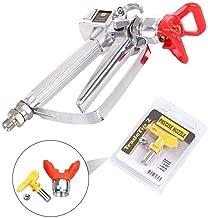 Airless Paint Spray Gun with 517 tip Swivel Joint for Graco Wagner Titan Pump Sprayer 3600PSI High Pressure Spray Gun
