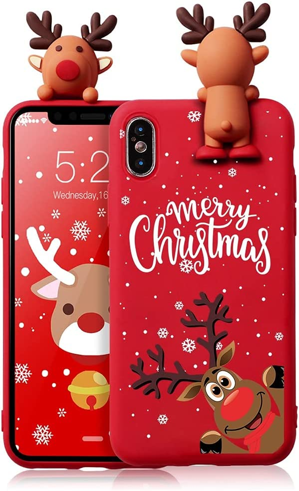 Eouine Christmas Case for Samsung Galaxy A01 [5.7