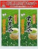 磯田園 抹茶入り玄米茶お徳用パック 200gx2