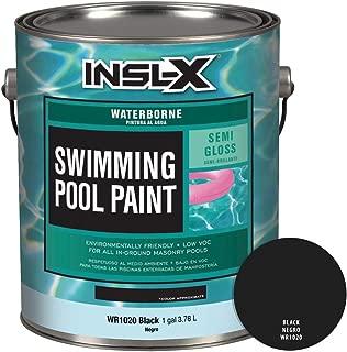 INSL-X WR102009A-01 Waterborne, Semi-Gloss Pool Paint, 1 Gallon, Black