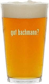 got bachmann? - Glass 16oz Beer Pint