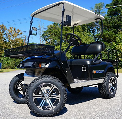 EZGO TXT/Medalist 2001.5-2013 ELECTRIC Golf Cart Drop Axle Lift Kit & 14' TERMINATOR Golf Cart...