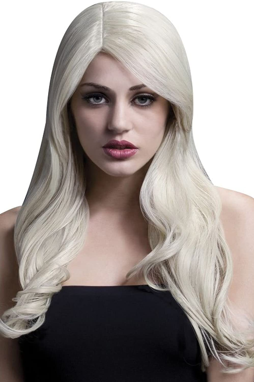 Smiffys Damen-Perücke Nicole (blond) Perücke Nicole in blond Wellen Seitenscheitel professionelle Qualität frisierbar B0168K10NQ Haltbar     | Niedrige Kosten
