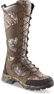 Guide Gear Men's Country Pursuit 16 Waterproof Side-Zip Snake Boots, Mossy Oak Break-Up Country
