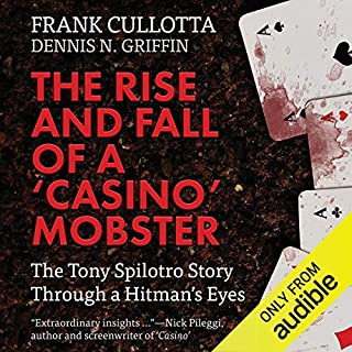"""The Rise and Fall of a """"Casino"""" Mobster audiobook cover art"""