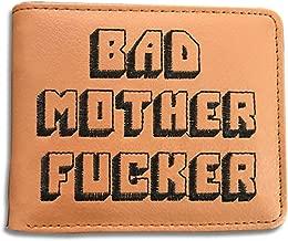Bad Mother F Ker Wallet With Coin Purse Pulp Short Pocket BI-Fold Fiction