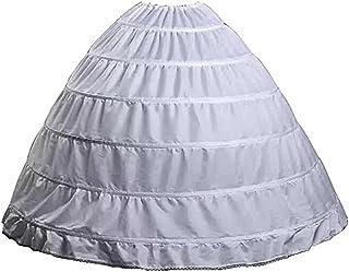 Kalos Dress Shop Full A-Line 6 Hoops Women's Petticoat for Ball Gown Wedding Skirt