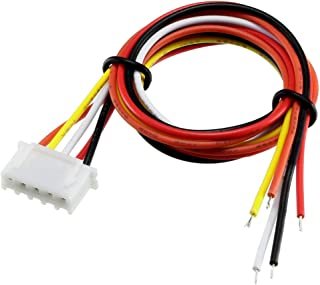 uxcell 4S 5Pin Female -XH Lipo Balance Wire Extension Lead Charger Plug Terminal Cable 26AWG 50cm 5Pcs