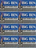 40 Big Ben Super Stainless Double Edge Razor Blades
