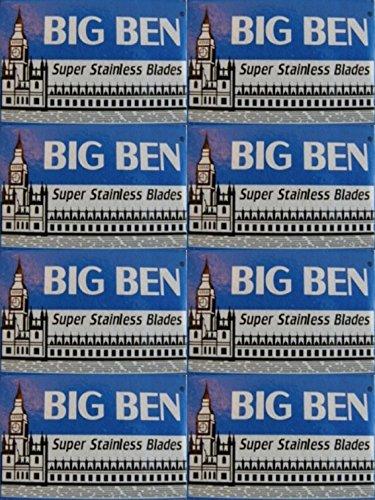 40 Cuchillas de afeitar Big Ben - Super Stainless