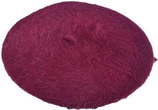 1pcs Women Elegant Multicolor Artist Rabbit Fur Lapin Newsboy Beanie Beret Hat