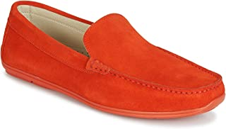 andré BIGOLO Mocassins & Chaussures Bateau Hommes Orange Mocassins