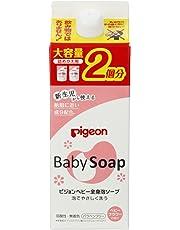 ピジョン ベビー全身泡ソープ ベビーフラワーの香り 詰めかえ用 2回分 800ml