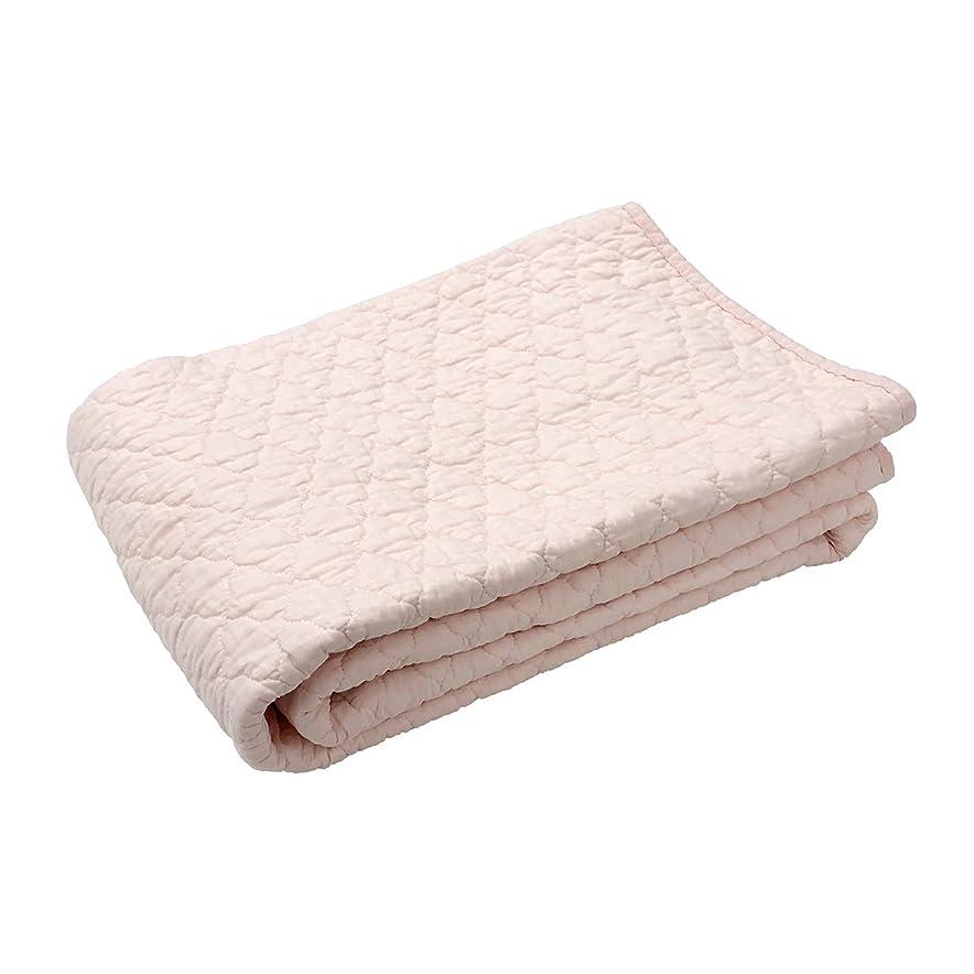 消費者ガード落ちた西川リビング 敷きパッド ピンク シングル(100×205cm) パッドギャラリー 水洗い やわらか CP-053S 2072-05360