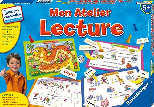 Ravensburger - 24248 - Jeu éducatif - Apprendre à lire et à écrire - Mon atelier Lecture