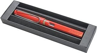 Lamy Safari Fountain Pen, Red (L16F) (Red Fountain Pen with Gift Box)