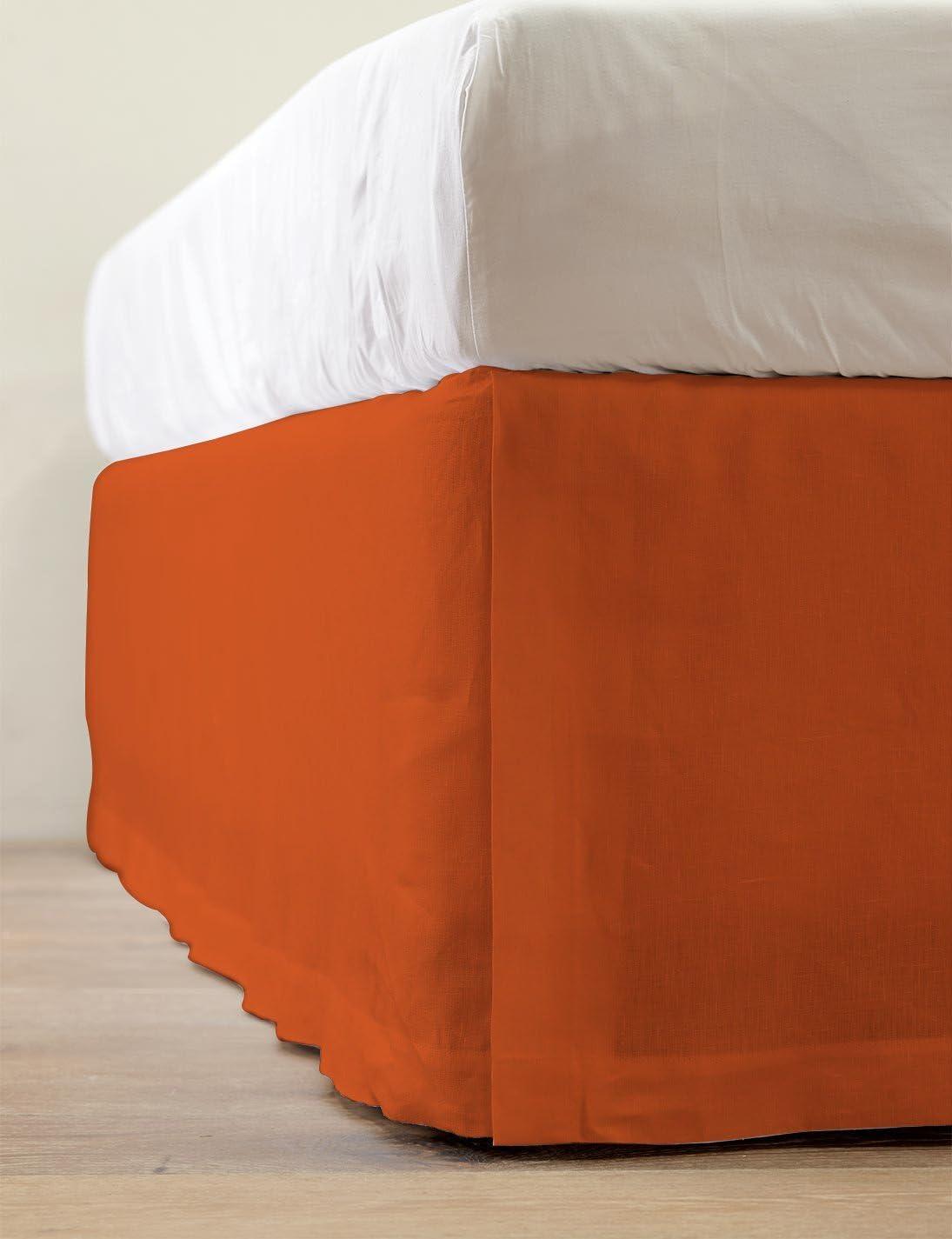 SRP Bedding 人気の製品 Real 350 Thread Count Bed Ru Split Dust Skirt ランキング総合1位 Corner