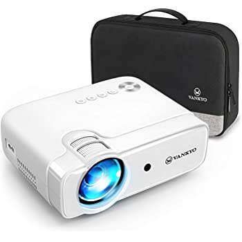 """VANKYO Proiettore, Videoproiettore 5000 Lumen con 236"""" Display, Supporta 1080P, HiFi Speaker, con Borsa Portatile, per TV Stick iOS/Android/Entry-Level/Regalo, Leisure 430"""