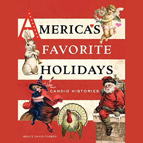 America's Favorite Holidays audiobook cover art