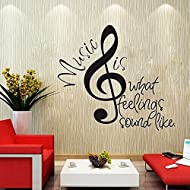 Wowall Home Decor Saying Inspirational Wall Art Quote Stickers (B)