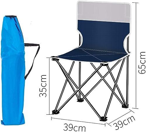 WMM-folding chair Tabouret extérieur de Chaise de Pliage Portable Pliant carré léger Tabouret Chaise Heavy Duty pour la pêche Randonnée