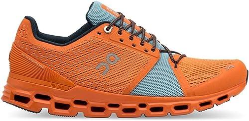 ON Cloudstratus - Hauszapatos de Running para Hombre, 99868 naranja   Wash, 8
