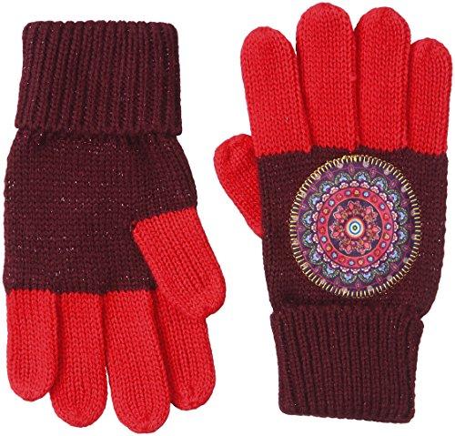 Desigual Mädchen GLOVES_SESA Handschuhe, Violett (FLOX 3125), 152 (Herstellergröße: L/XL)